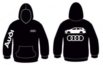 Sweatshirt com capuz para Audi Q7