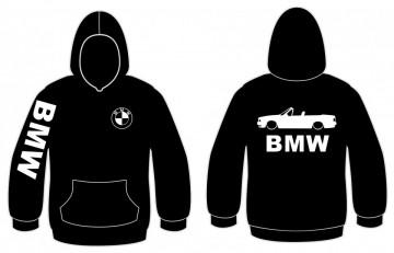 Sweatshirt com capuz para Bmw E30 Cabrio