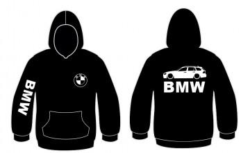 Sweatshirt com capuz para Bmw E91 Touring