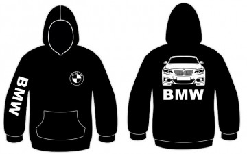 Sweatshirt com capuz para BMW F22