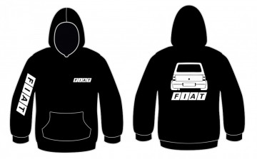Sweatshirt com capuz para Fiat Panda
