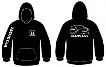 Sweatshirt com capuz para Honda Civic FK8