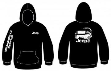 Sweatshirt com capuz para Jeep Grand Cherokee