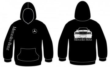 Sweatshirt com capuz para Mercedes 190