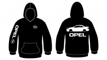 Sweatshirt com capuz para Opel Astra G Coupe