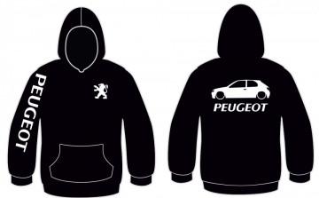 Sweatshirt com capuz para Peugeot 306 3 portas