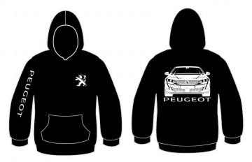 Sweatshirt com capuz para Peugeot 508