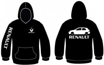 Sweatshirt com capuz para Renault Clio