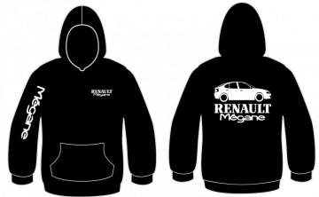 Sweatshirt com capuz para Renault Megane 5 portas