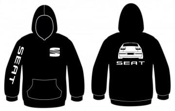 Sweatshirt com capuz para Seat Leon sem logo