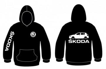 Sweatshirt com capuz para Skoda Fabia