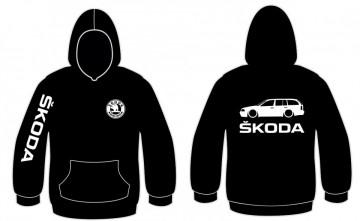Sweatshirt com capuz para Skoda Octavia Combi