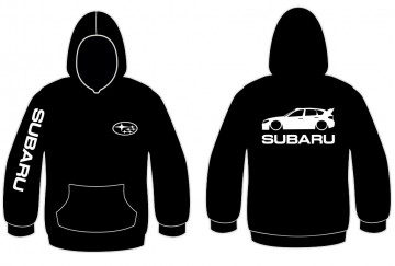 Sweatshirt com capuz para Subaru Impreza Mk3 WRX