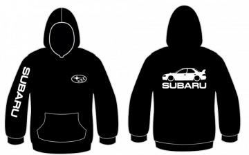 Sweatshirt com capuz para Subaru impreza WRX STi 1