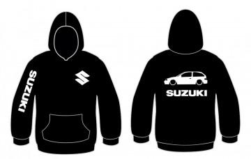 Sweatshirt com capuz para Suzuki swift