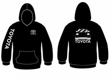 Sweatshirt com capuz para Toyota MR2