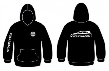 Sweatshirt com capuz para Volkswagen Golf VI