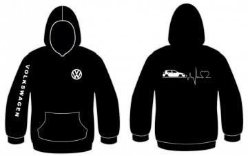 Sweatshirt com capuz para VW GOLF VI 5portas -  Batimentos