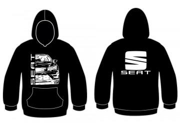 Sweatshirt com capuz Seat 5f
