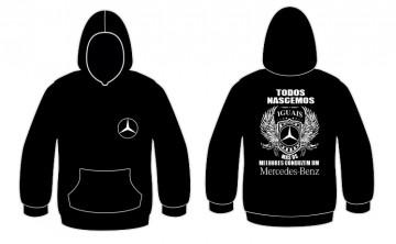 Sweatshirt com capuz Todos Nascemos (Mercedes)