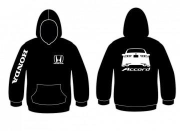 Sweatshirt para Honda accord traseira