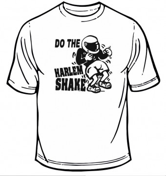 T-shirt - Do the harlem shake