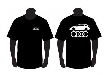 T-shirt para Audi A3 8pa