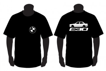 T-shirt para BMW E30 sedan