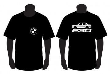 T-shirt para BMW E30 sedan