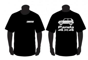 T-shirt para Fiat Panda 4X4