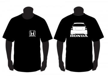 T-shirt para Honda Civic EK Traseira