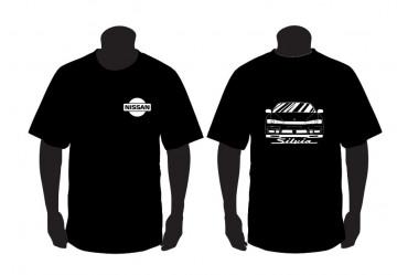 T-shirt para Nissan Silvia