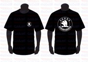 T-shirt para Skoda