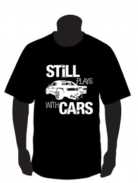 T-shirt para  still plays with cars