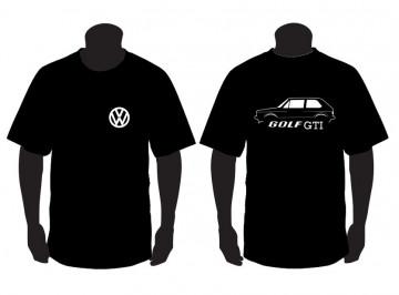 T-shirt  para Volkswagen Golf I GTI
