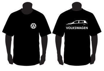 T-shirt para Volkswagen Golf Mk6 5 portas