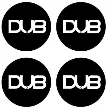 4 Autocolantes Para Centros de Jantes com DUB