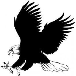 Autocolante - Águia