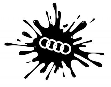 Autocolante - Audi Splash