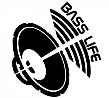 Autocolante - Bass Life