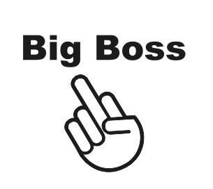Autocolante - Big Boss