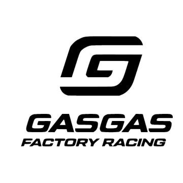 Autocolante com caveira GasGas Factory Racing