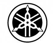 Autocolante com Logo Yamaha