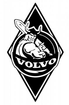 Autocolante com Volvo
