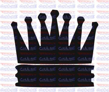 Autocolante - Coroa 11