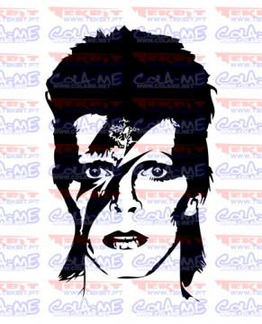 Autocolante - David Bowie