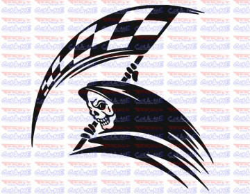 Autocolante - Dead Race