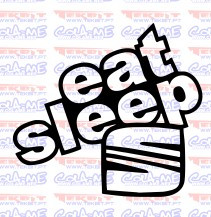 Autocolante - Eat Sleep Seat