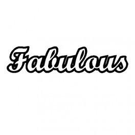 Autocolante - Fabulous