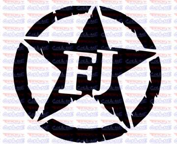 Autocolante - FJ